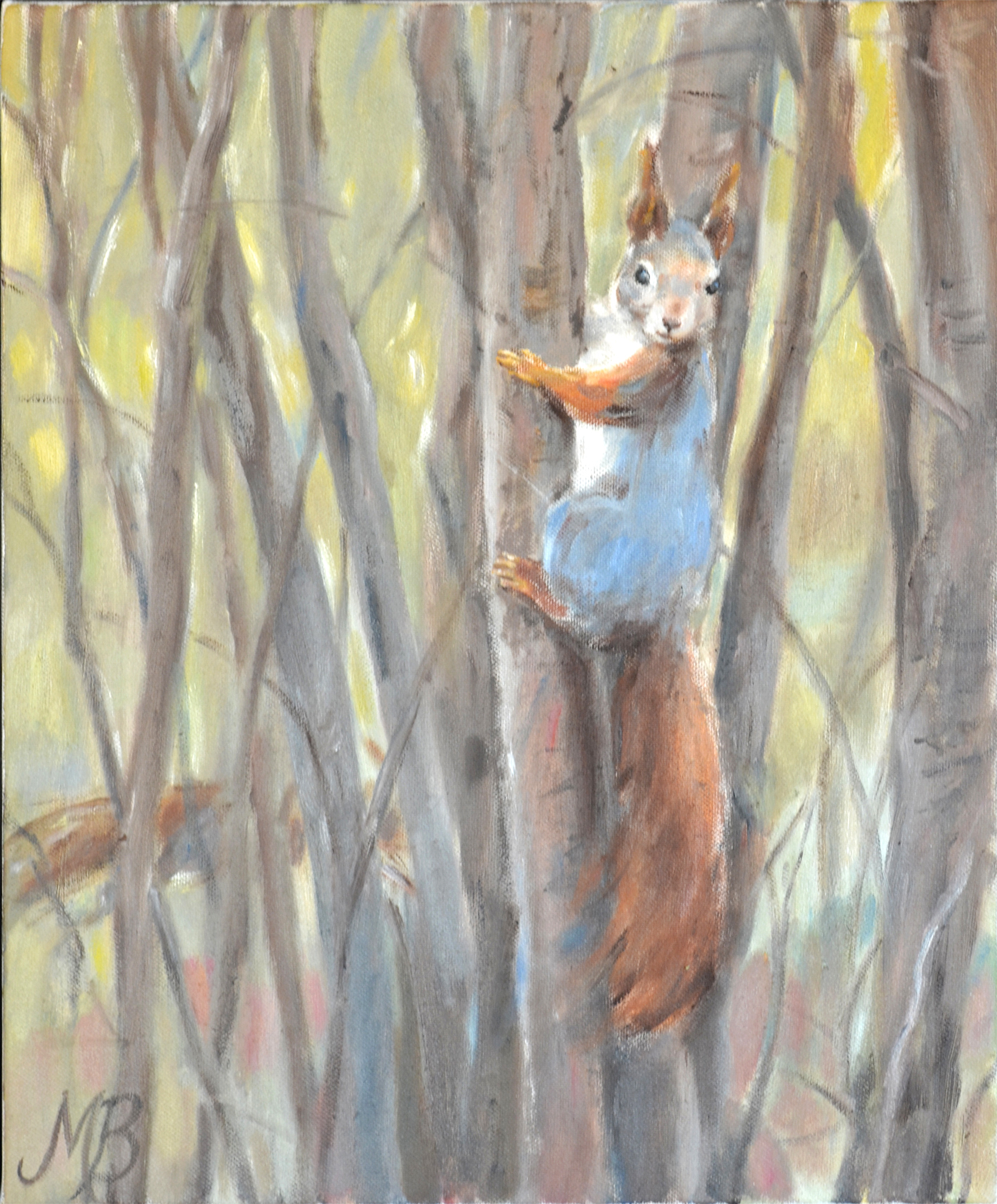 """Squirrel"" Acryl"